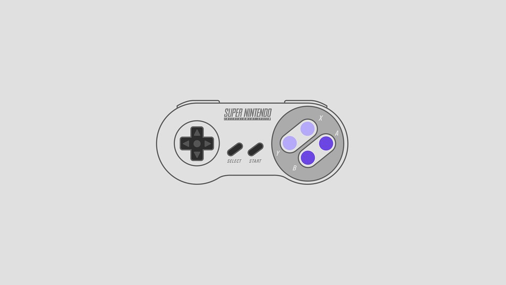 Super Nintendo (SNES) Controller wallpaper - USA version ...