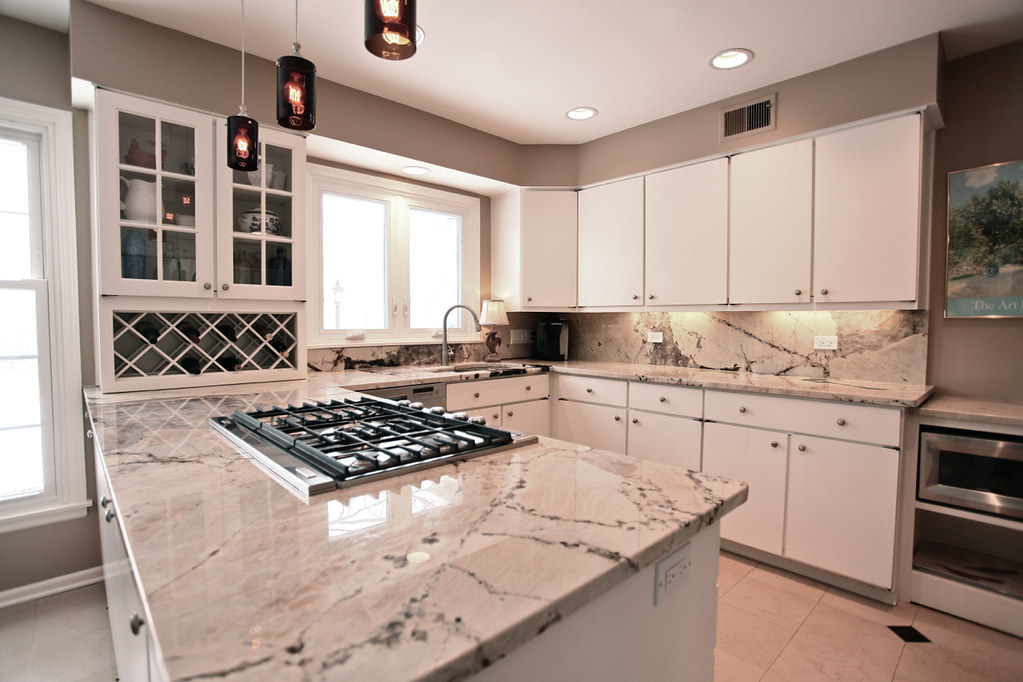 ... Kitchen W/ Vintage Granite Countertops | By Connie Antoniou Of  Sothebyu0027s International Realty