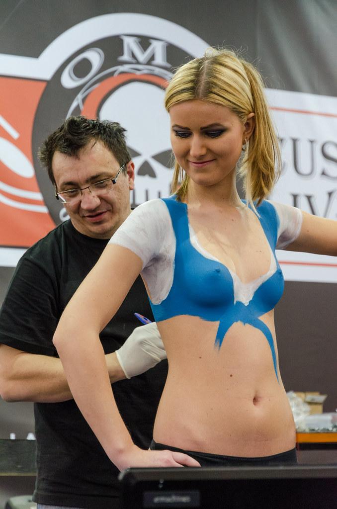 Female Nsfw Body Paint