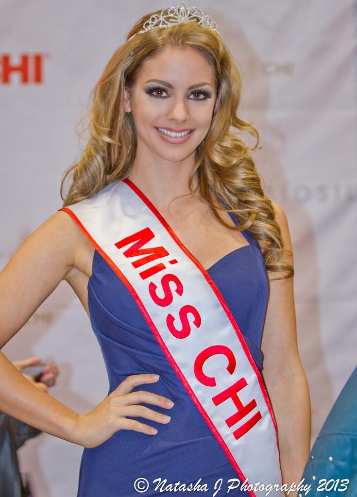 Nathalie den Dekker of Netherlands at America's Beauty Sho ...