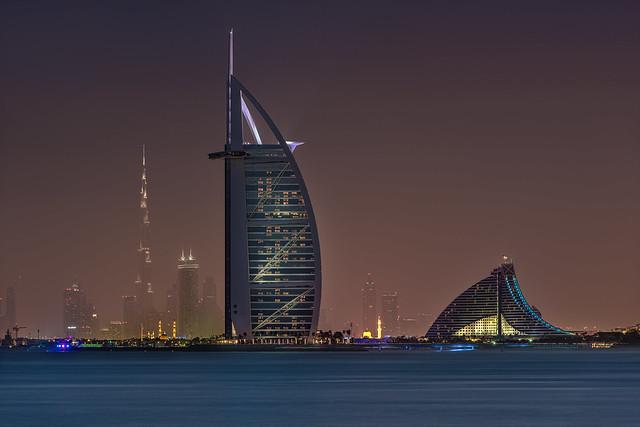 Burj Al Arab Hotel With Burj Khalifa View Flickr Photo