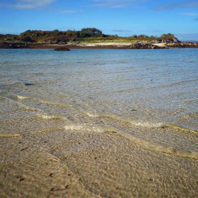 The sound of the sea.  Glenuig, Scottish Highlands  #Glenuig #glenuigbay #innerhebrides #scotland #scottishscenery #seashore #waves #water