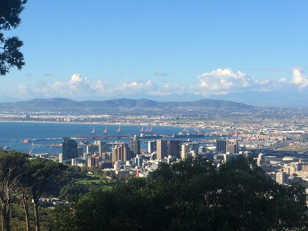 View OF Tygerberg Hills from Signal Hill