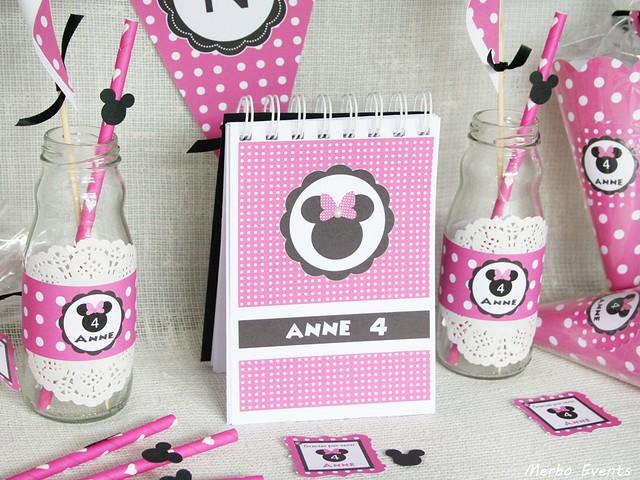 Cumpleaños minnie Mouse por merboevents.com