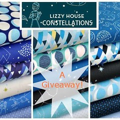 Lizzy House Constellations giveaway by Cut To Pieces