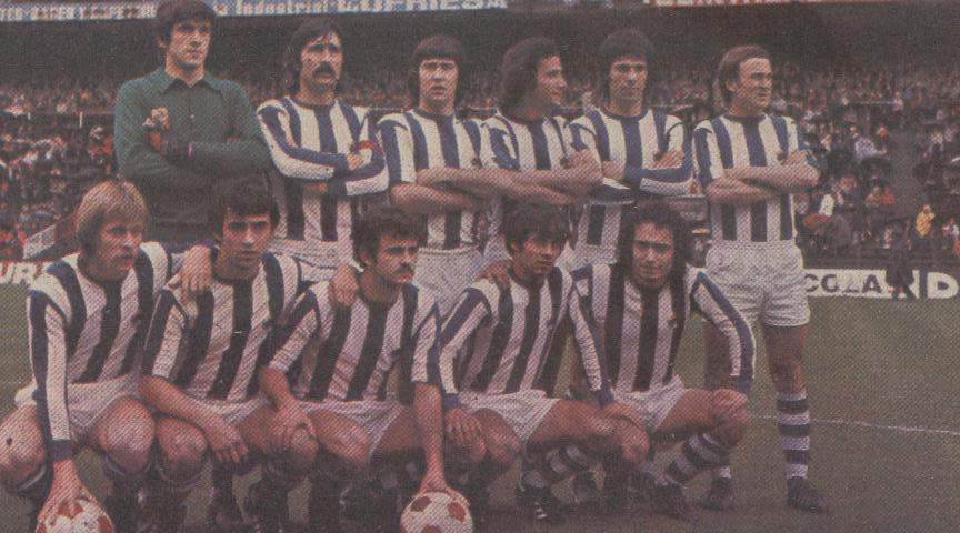 Resultado de imagen de TEMPORADA 1975/76 REAL SOCIEDAD
