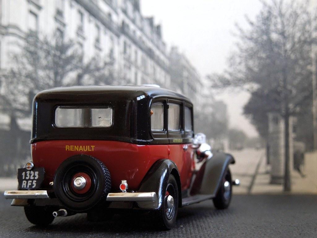 renault kz11 1933 taxi g7 1 43 altaya ixo xavnco2 flickr. Black Bedroom Furniture Sets. Home Design Ideas