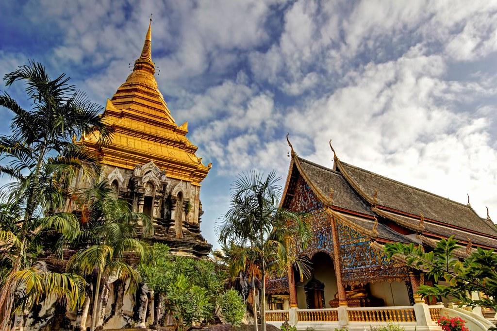 Chedi of Wat Chiang Man / Chiang Mai / Thailand  Wat Chiang…  Flickr