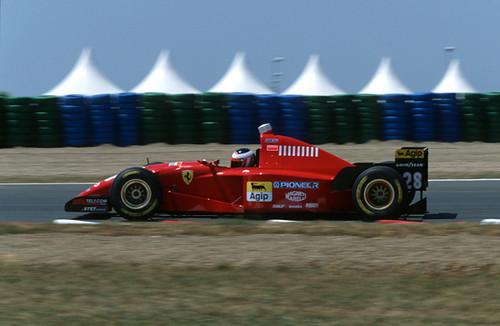 Gerhard Berger Ferrari 412t2 F1 Gp France 1995 Scan034
