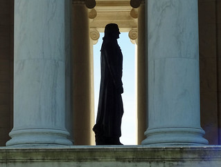 jefferson-memorial-silhouet | by quirkytravelguy