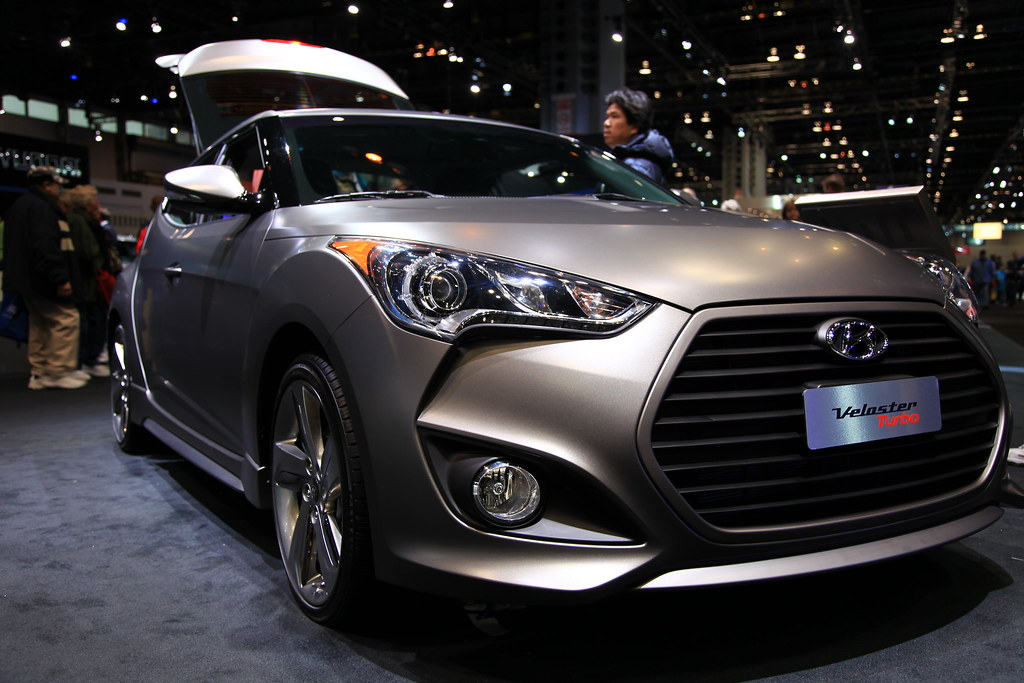 2013 Hyundai Veloster Turbo At The 2013 Chicago Auto Show