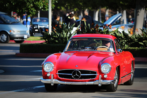 Mercedes benz 300sl gullwing cars and coffee irvine flickr for Mercedes benz of irvine