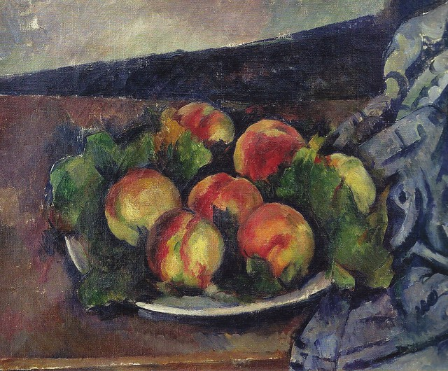 Paul Cézanne - Still Life with a Plate of Peaches, 1892 at ...