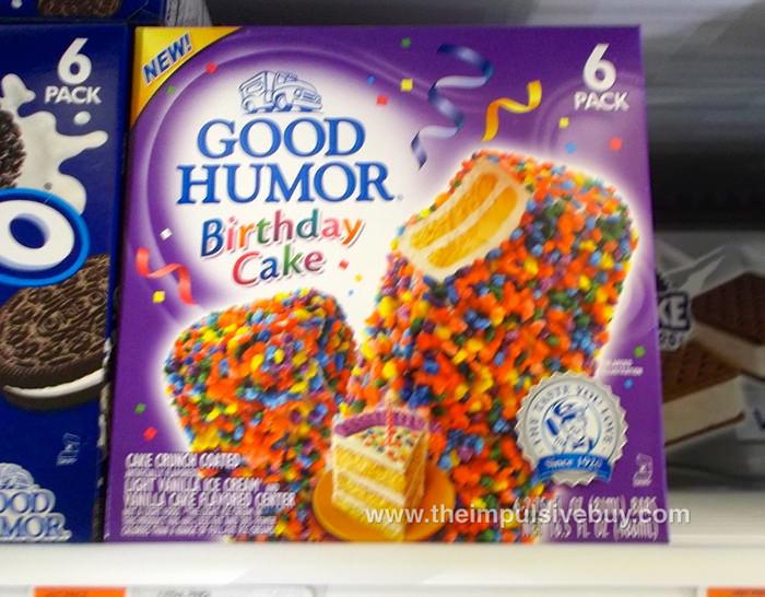 Good Humor Birthday Cake Bars Theimpulsivebuy Flickr