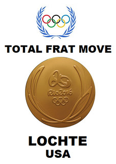 Lochte Wins Olympic Gold In Frat Boy Moves