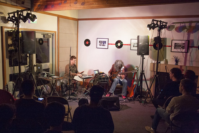 steve lawson and daniel berkman in concert