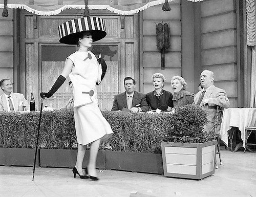 """Scene From The 1956 Episode Of """"I Love Lucy"""