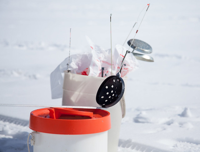 Ice fishing gear flickr photo sharing for Ice fishing clothing