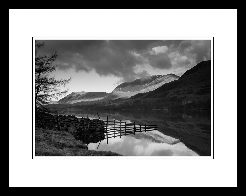 Buttermere - 10 x 15 inch print in a 16 x 20 inch frame | Flickr