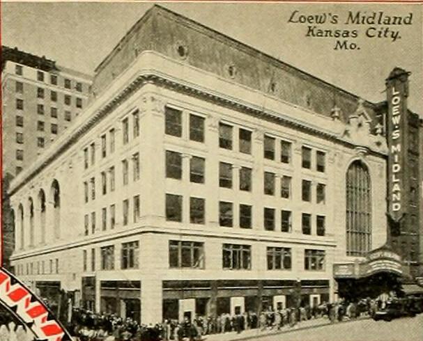 Midland Theatre Kansas City Mo In 1928 Charmainezoe S