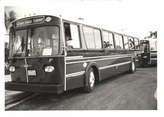 Chula Vista Transit Chula Vista Transit S Orion I Bus In