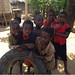 Children with tyre