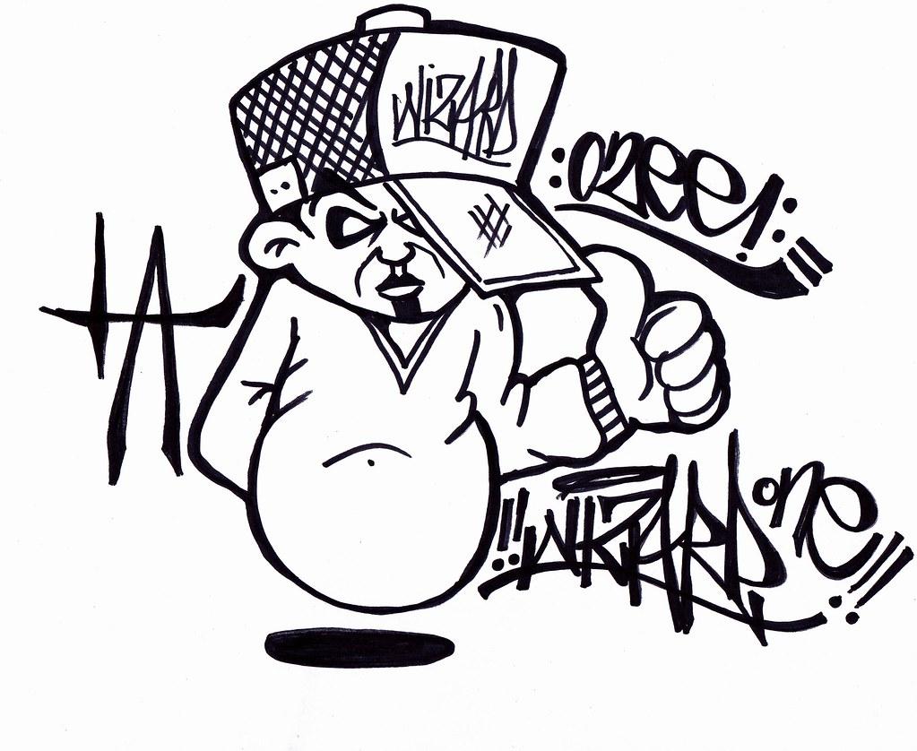 graffiti character 3 | graffiti characters | cholowiz13 | Flickr