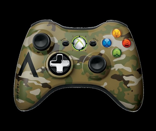 xbox 360 special edition camouflage wireless controller. Black Bedroom Furniture Sets. Home Design Ideas