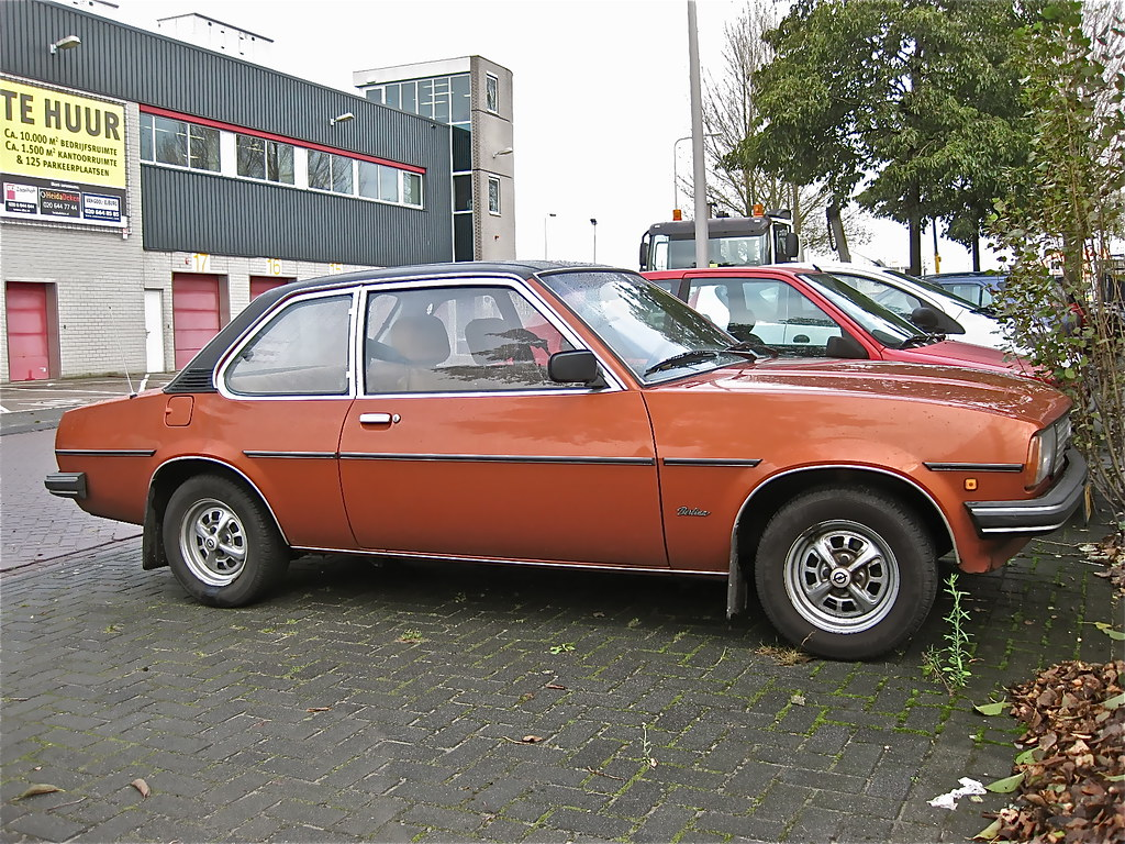 1981 opel ascona b 2 0s berlina this 2nd type ascona was p flickr. Black Bedroom Furniture Sets. Home Design Ideas
