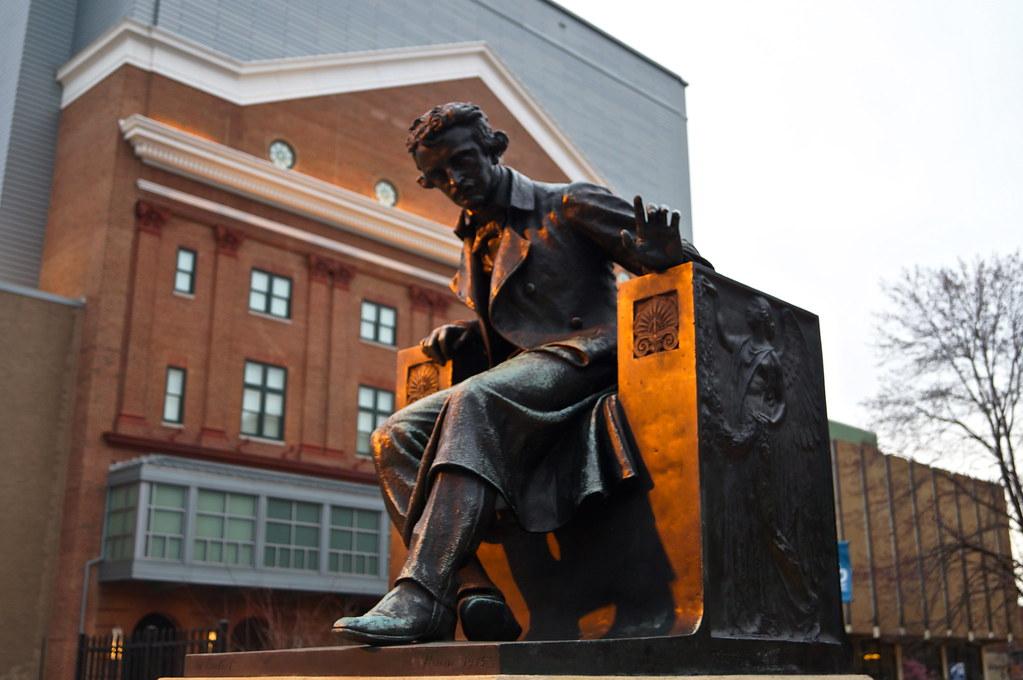 Edgar Allen Poe @ University of Baltimore | Flickr - Photo Sharing!