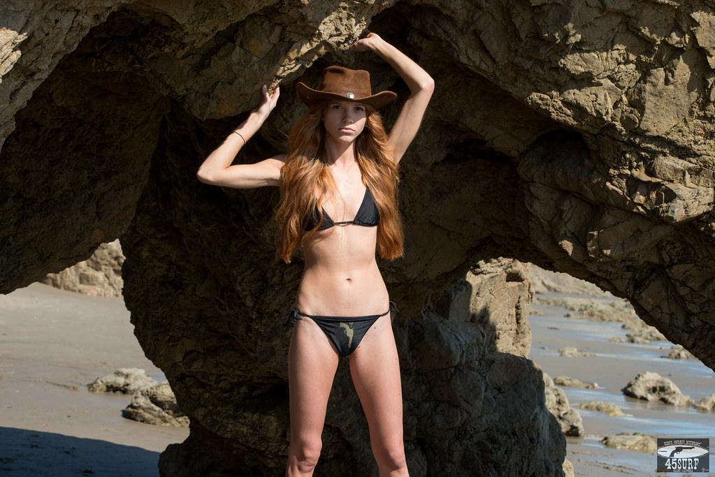 Beautiful long haired redhead euro jew prepares for beast - 1 part 8