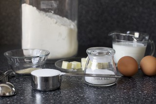 yeast, flour, butter, milk, eggs, salt, go | by smitten kitchen