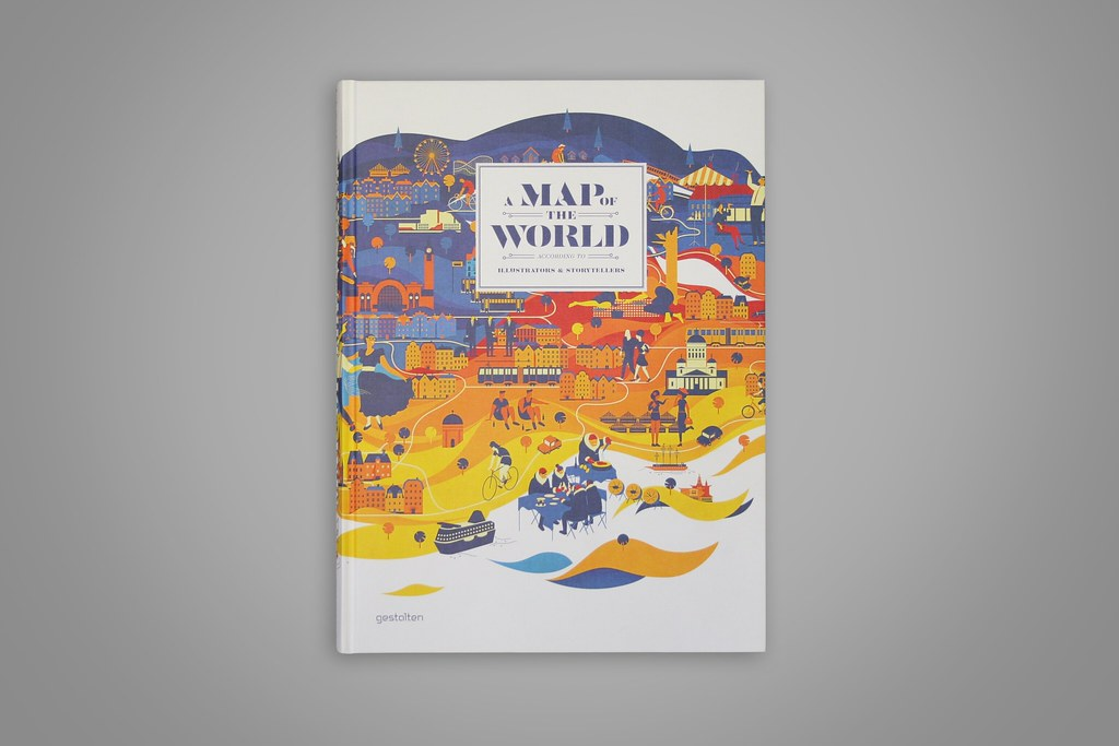 A Map Of The World According To Illustrators And Storytellers.Feature Densitydesign A Map Of The World According To Il Flickr