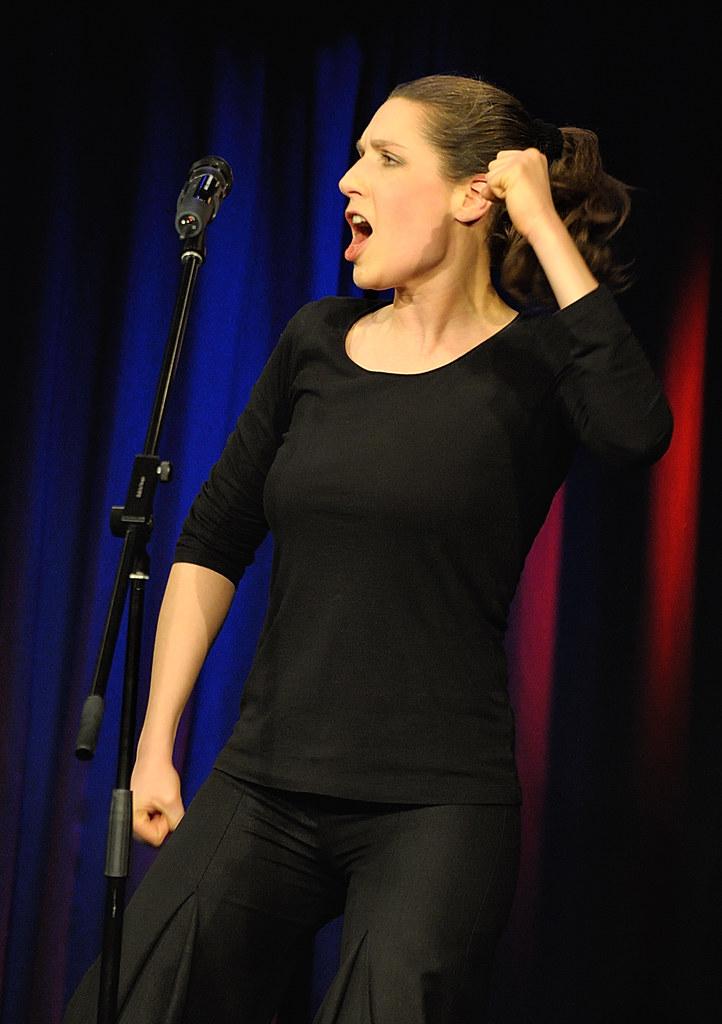 Christine Prayon im Nellie | bukoh | Flickr