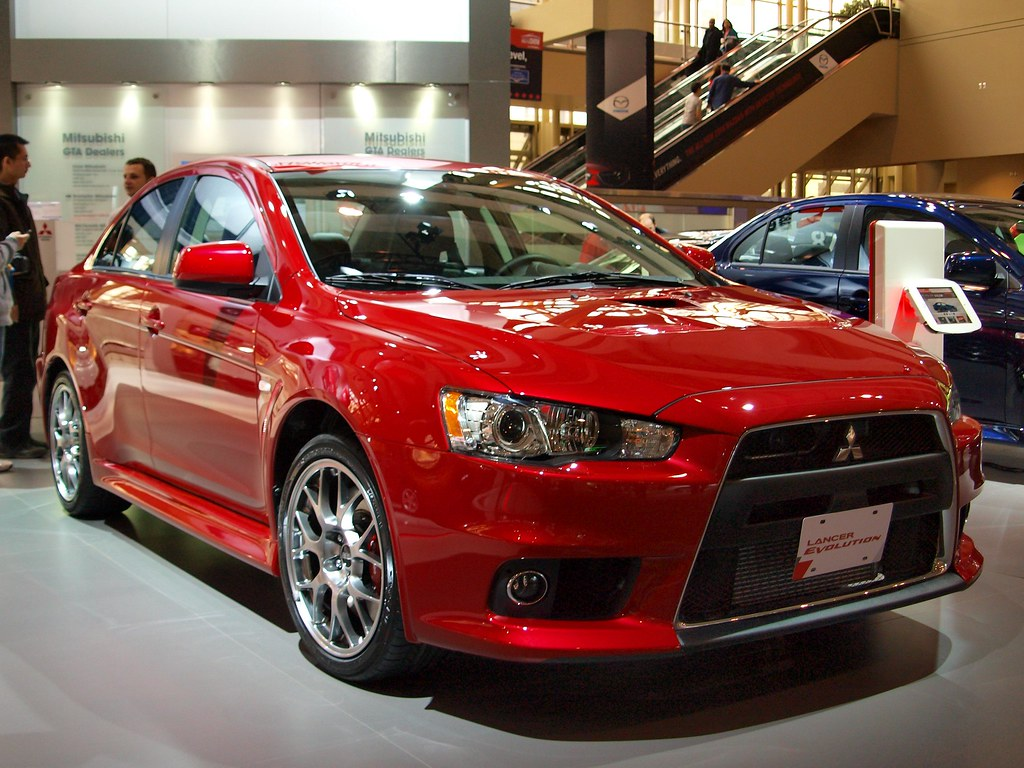 ... CIAS 2013   2013 Mitsubishi Lancer Evolution X | By MSVG