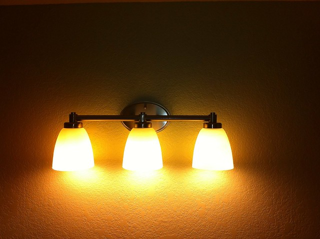 New bathroom vanity lights flickr photo sharing for Z gallerie bathroom lights