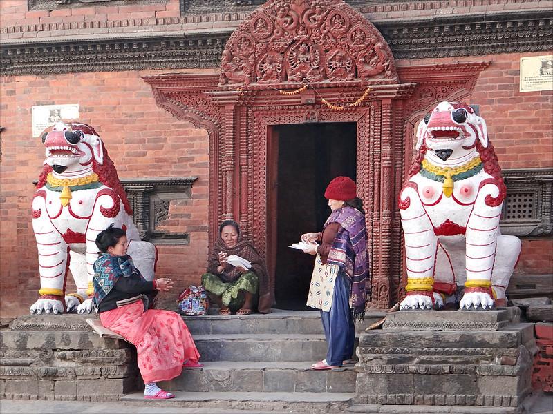 La maison de la Kumari (Katmandou)