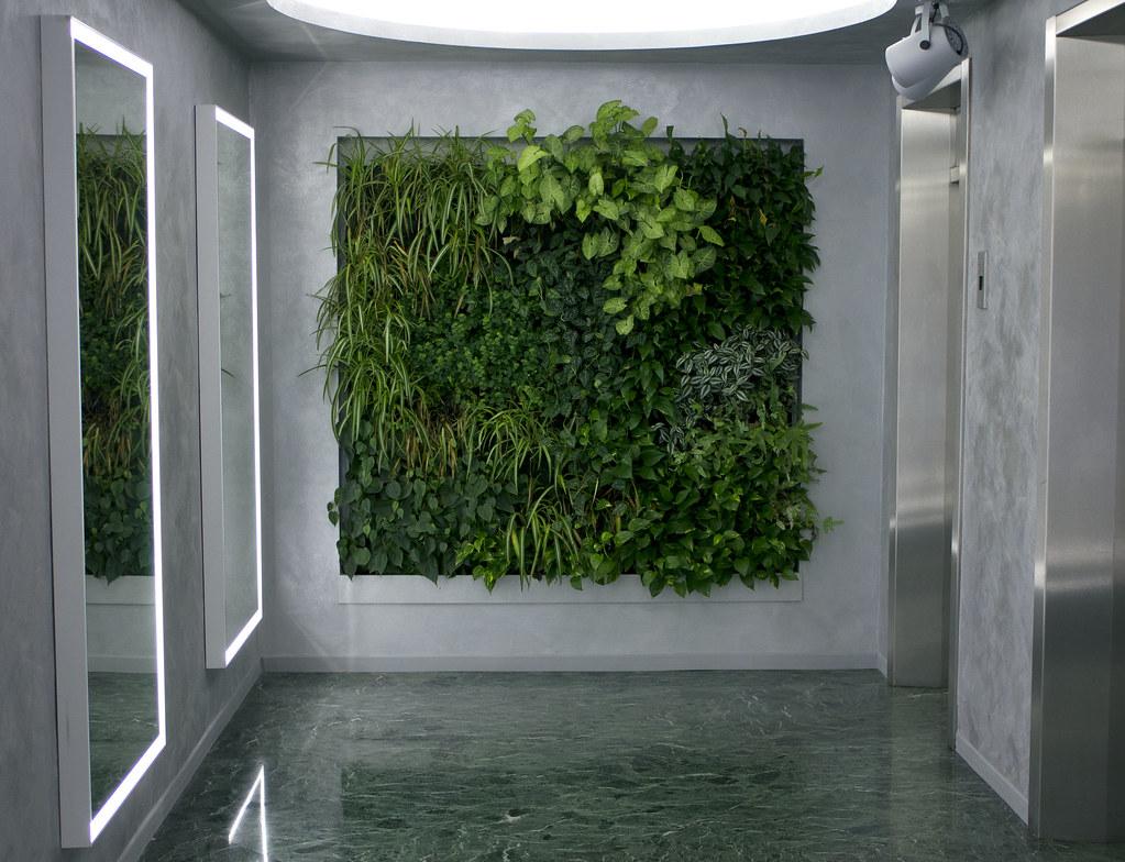 Biesse milano giardini verticali indoor biesse milan flickr for Giardini verticali milano