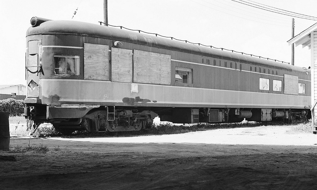 Former Illinois Central Railroad Observation Car Now Priv