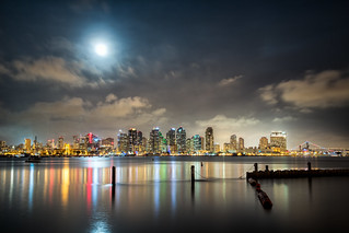 Full Moon over San Diego | by Justin in SD