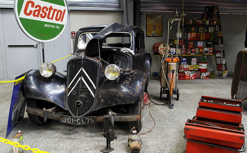 Ancien garage citroen philippe nx flickr for Ancien garage citroen lyon