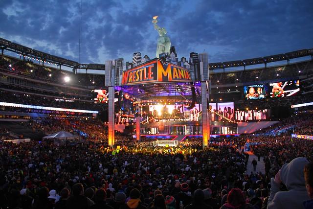 WrestleMania 29 Stage   Flickr - Photo Sharing! Wrestlemania 29 Stage