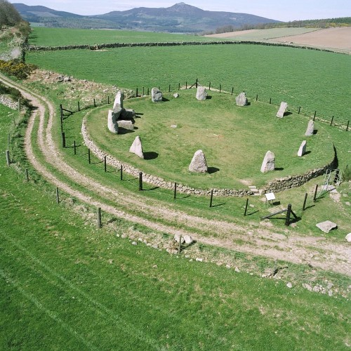 Image result for aquhorthies stone circle