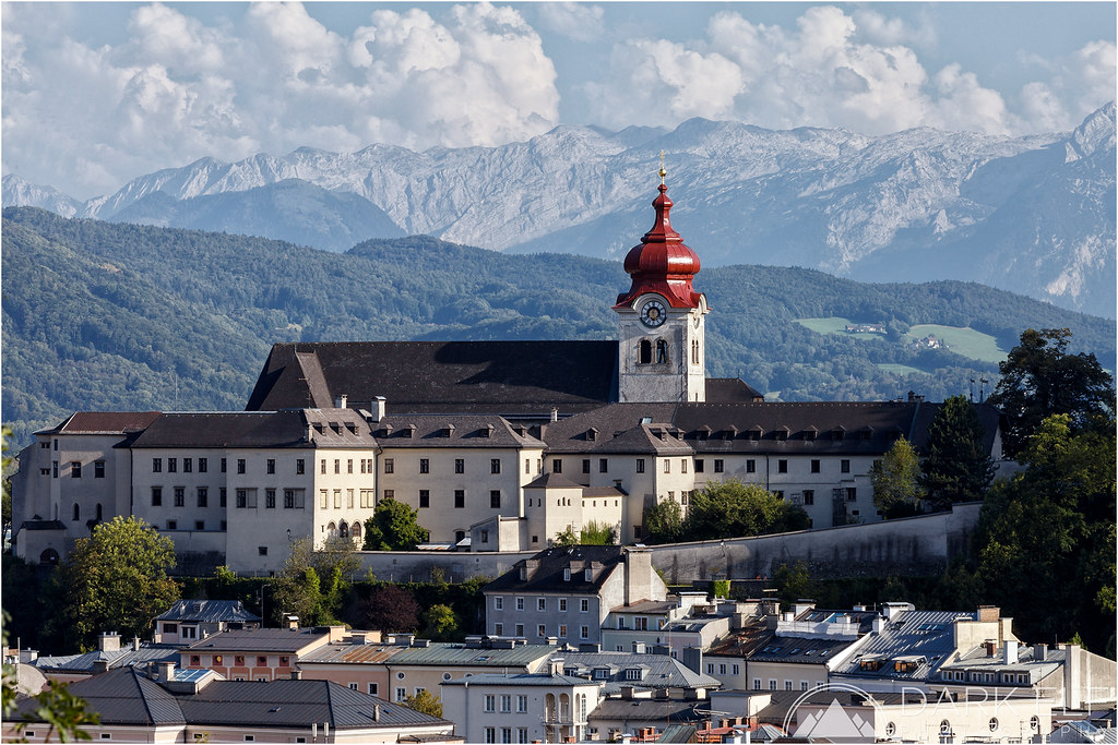 Nonnberg Abbey from Kapuzinerberg - Picture of Nonnberg Convent ...