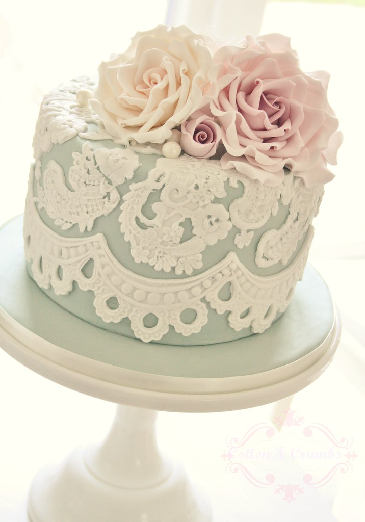 Cake Design Vintage : Vintage birthday cake Made for Natalie who attended my ...