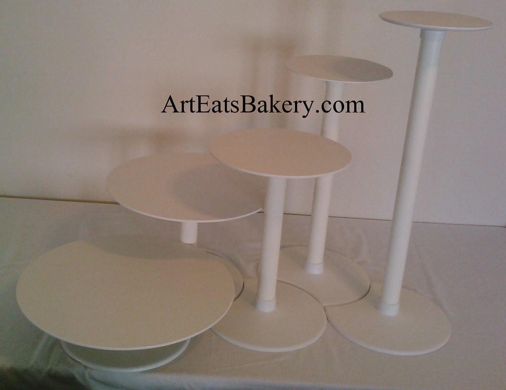 Inch White Cake Stand
