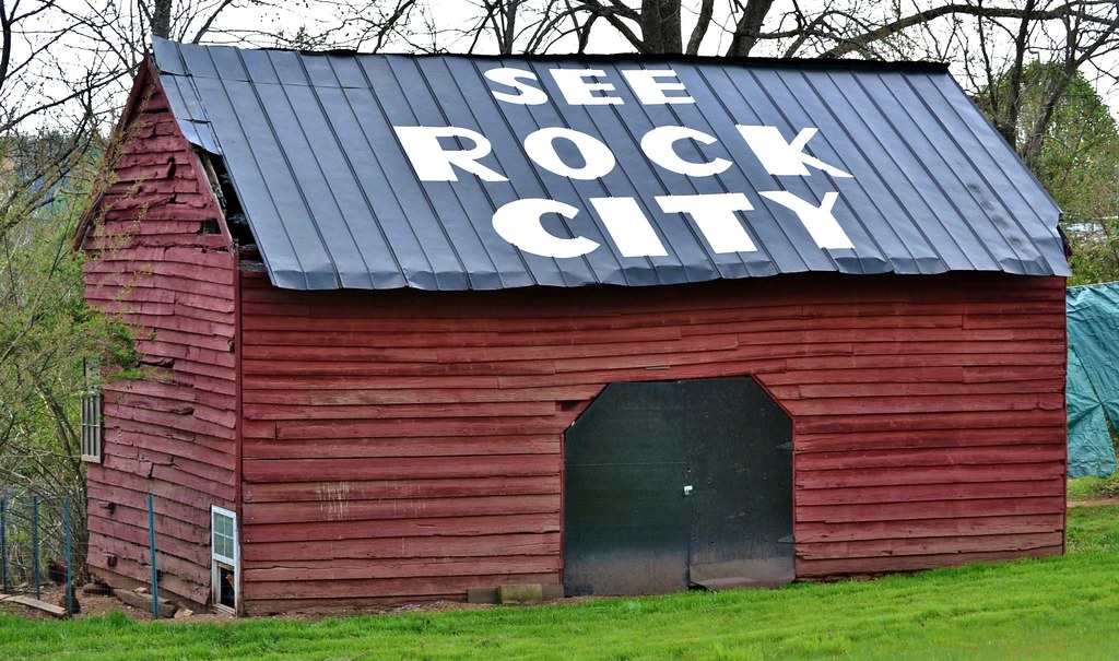 In The News Ben Morris S See Rock City Barn Before I