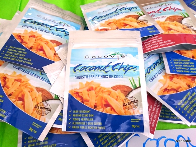 Coco Vie coconut chips
