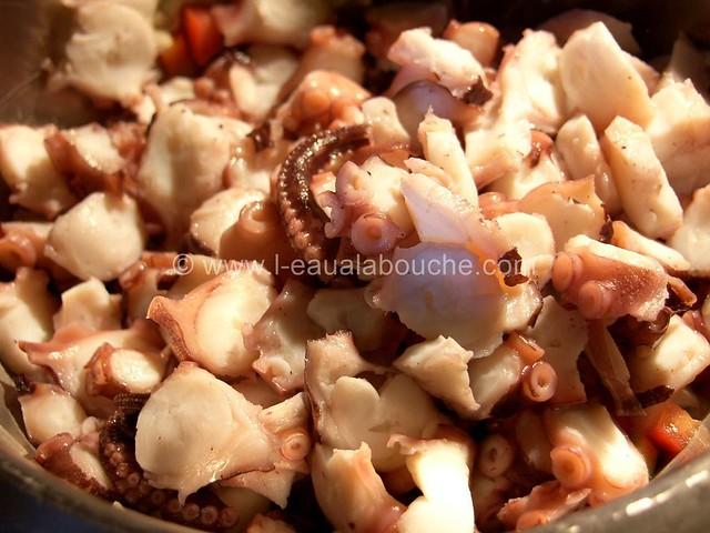 Salade de Poulpe Ensaladilla de Pulpo © Ana Luthi Tous droits réservés 005