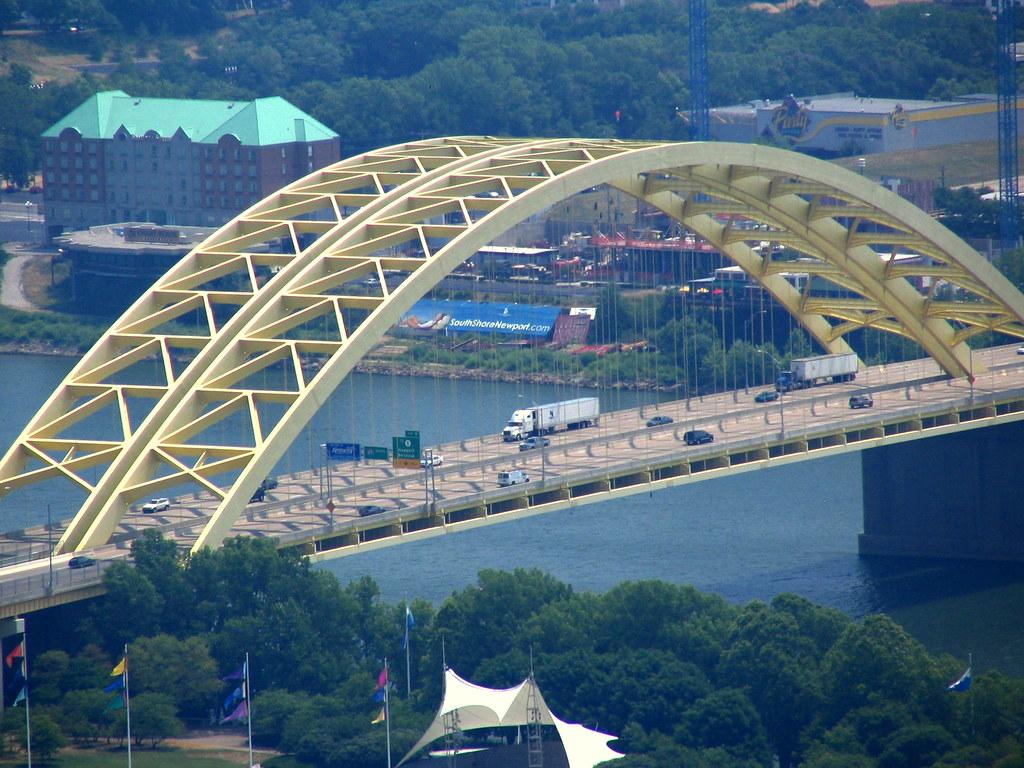cincinnati from above 6 big mac bridge for those of us t flickr